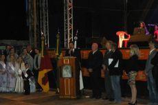 Cerim�nia de abertura da VII Festa Colonial - Bar�o