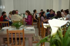 Inauguração da Benvenutti Pizzaria & Pastelaria, em Tupandi