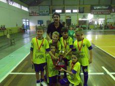 São José: campeão da categoria iniciação