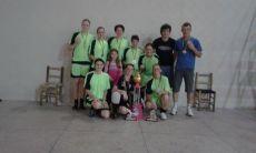 Garotas da Quadra: time campeão da categoria feminino