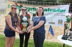 Patrícia e Morgana venceram o Torneio Feminino