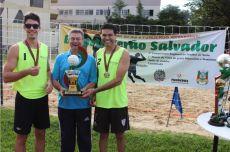 Dupla Vinícius e Adilson ficou com troféu do Vôlei Masculino