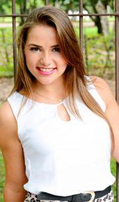 Morgana Machado, 19 anos, de Santa Teresinha