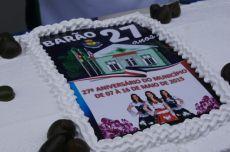 Comemora��o pelo 27� anivers�rio do munic�pio de Bar�o