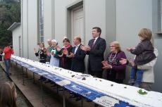 Comemoração pelo 27º aniversário do município de Barão