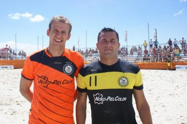 Montenegrinos Tita e Acácio jogam pela AABBOC, que vai enfrentar o Chelsea, de Montenegro