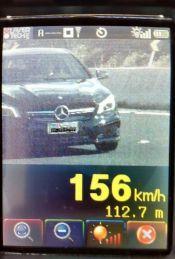 Radar pega veículo a 156 km/h