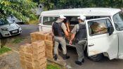 Kombi carregada de cosméticos é assaltada na RS 122