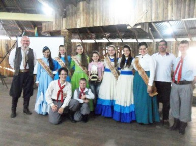 CTG Estância do Imigrante sediou evento na noite de sexta-feira (Foto: Divulgação/Prefeitura)