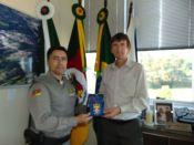 Prefeito recebe comenda do 5º Batalhão de Polícia Militar