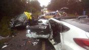 Três pessoas morrem em acidente na RS 124