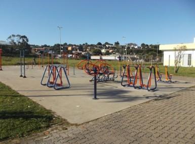 Academia da Saúde: espaço para lazer e atividades físicas (Foto: Divulgação/Prefeitura)