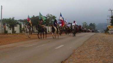 Cavalgada Feminina é atração neste domingo (Foto: Divulgação/Prefeitura)