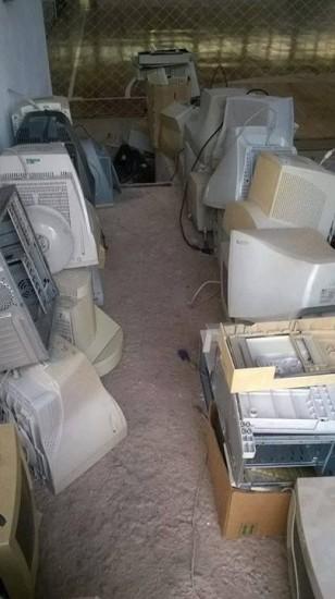 Harmonia teve coleta de eletrônicos no sábado (Foto: Divulgação/Prefeitura)