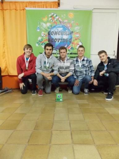 Grupo Agueros é o vencedor do concurso Ecovídeo (Foto: Divulgação/Prefeitura)
