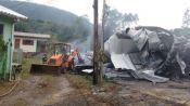 RGE garante que incêndio na fábrica de estofados não iniciou em poste