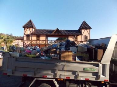 Maratá fez descarte de material eletrônico obsoleto (Foto: Divulgação/Prefeitura)