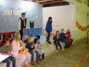 Escola confraterniza com pais e familiares