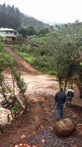 Chuva forte causou estragos e transtornos