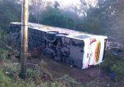 Duas mulheres morrem em acidente com ônibus