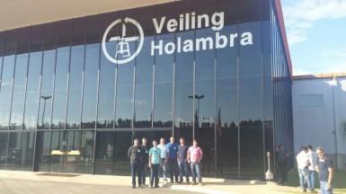 Grupo de Pareci Novo durante viagem a Holambra (Foto: Divulgação/Prefeitura)