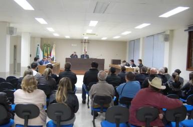 Veto foi muito comentado na sessão da última segunda-feira (Foto: Câmara de Vereadores)
