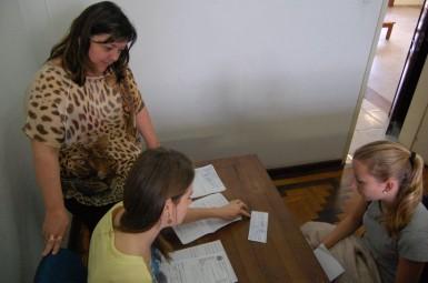 Estudantes recebem Passe Livre