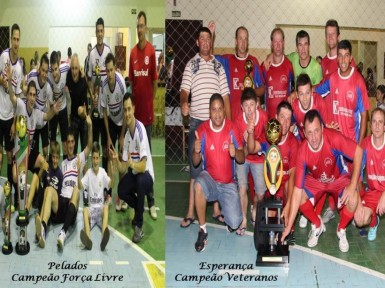 Conhecidos os campe�es do Municipal de Futsal 2014