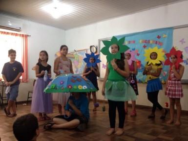 Projetos incentivam leitura e criatividade na Escola Alberto Pasqualini (Foto: Divulgação/Prefeitura)