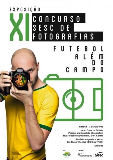 """Exposição fotográfica """"Futebol Além do Campo"""" está em Maratá"""
