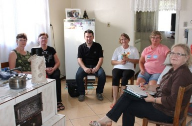 Famílias de Linha Stein deverão, novamente, servir o café da colônia na Festur (Foto: Divulgação)