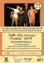 Teatro no dia 26 de abril