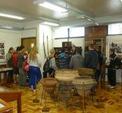 Alunos conheceram museus em visita de estudo