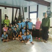Alunos visitam primeira capela/escola do município