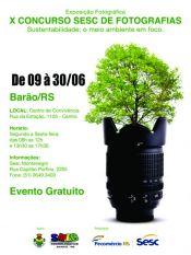 Barão recebe exposição do 10º Concurso Sesc de Fotografia
