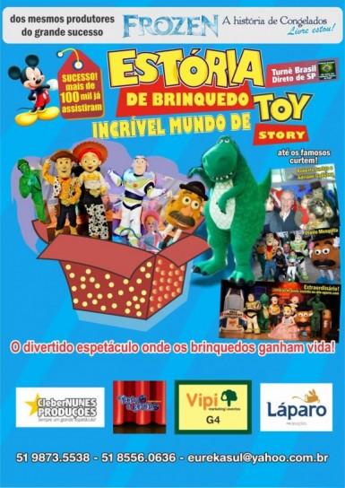 "O ""Incrível Mundo de Toy Story"" chegará a Tupandi"